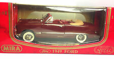 Mira 1949 Ford Burgandy DIECAST SCALE 1:18