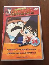 DETECTIVE CONAN DVD 24 - 1 DVD - 2 CAPS - 50 MIN - JONU MEDIA PLANETA DEAGOSTINI