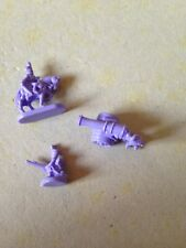 Risk Game, Batch Of Lilac 'Army' Pieces. Genuine Parker Games Parts.