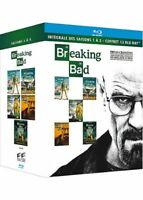 COFFRET 13 BLU RAY : BREAKING BAD - INTEGRALE DES SAISONS 1 A 5 - BRYAN CRANSTON