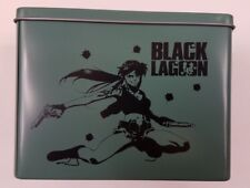 Black Lagoon Loot Anime Humanity Drink Coaster Set w/ Tin Loot Crate NEW!