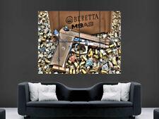 Arma Pistola Beretta arma M9A3 cartel mago gigante de impresión