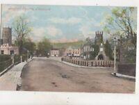 Bedford Square Tavistock Devon 1904 Postcard 512b