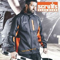 Scruffs Worker Jacket Technical Rain Lightweight Graphite 2 tone Size S – XXL
