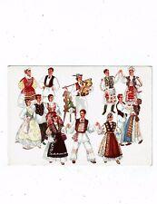 POST CARDS YUGOSLAVIA CROATIAN NATIONAL DANCES