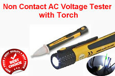 Electric Volt Stick Pen Voltage Detector Tester Cable Electricians Tool