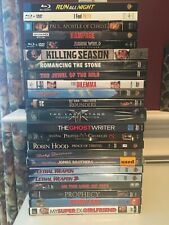 Various Blu-Ray and DVD's Movies Some OOP all MINT condition