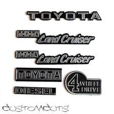 Toyota Land Cruiser Emblem für RC4WD und Tamiya 1:10 FJ40 BJ40 Scaler