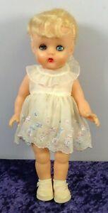 Vintage Blonde Soft Plastic Baby Doll