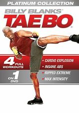Billy Blanks Tae Bo Platinum Collection 4 Workouts Region 4 New DVD
