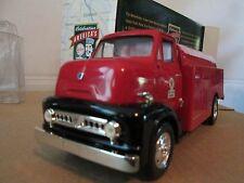1953 Ford COE C600 TEXACO  Truck 1:30 ERTL  VINTAGE DELIVERY AV FUEL  tanker