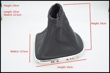PU Leather Gear Stick Shift Knob Cover Boot Gaiter Collar For Chevrolet Cruze