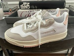 NWT adidas SC Premiere White Peach EE6040 Sneakers - Size 8.5