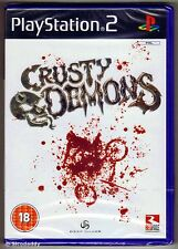 Crusty Demons Sony PlayStation 2 Ps2 18 Racing Game