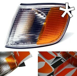 US - Design - Folie für weiße Blinker Audi 100 C4 rechts/links
