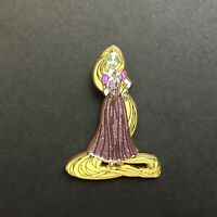 Princess Rapunzel Glitter Dress - Tangled Disney Pin 93357