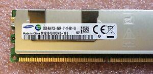 Samsung 32GB PC3L-10600R 4Rx4 DDR3 ECC REG Server Memory M393B4G70DM0-YH9*