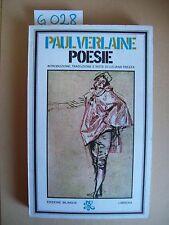 P. VERLAIN - POESIE - RIZZOLI - 1974 - EDIZIONE BILINGUE