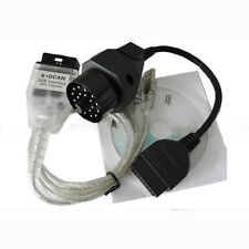 For BMW INPA Ediabas K+DCAN D-CAN OBD2 USB Interface + 20 Pin Adapter Cable New