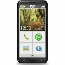 Emporia Smart 3 16GB Senioren Smartphone Ohne Simlock Android 5,5 Zoll Schwarz
