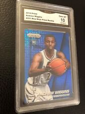 2014-15 Panini Prizm Blue Mojo Prizms 251 Andrew Wiggins GMA 10 Basketball Card