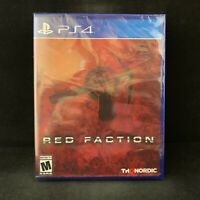 Red Faction  (PlayStation 4 / PS4) BRAND NEW / Region Free