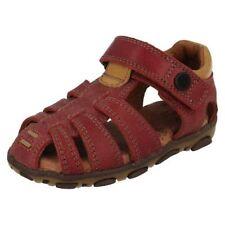Scarpe sandali rossi per bambini dai 2 ai 16 anni Numero 19
