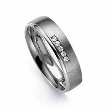 Diamond 18 Carat Band Rings for Men