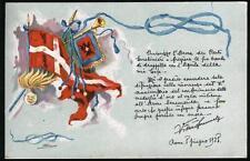 1925 - Autorizzazione ai Carabinieri a fregiare le trombe con vessillo V. Emanue