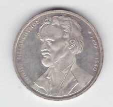 New listing 1997 Germany Silver 10 Mark Coin 500th Anniversary Philipp Melanchthon K-393