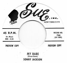 Sonny Jackson-Mi Nena/Jimmy Olivers Orq-El sorpresivo Sue Ri/re-Pro R&B