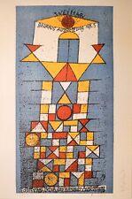 Paul Klee Bauhaus Poster Kunstdruck Bild 100x69cm