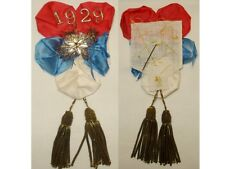 Ancienne Médaille, décoration, Rosette, Cocarde de conscrit 1929 guerre, armée