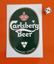 Carlsberg Beer Sticker Decal Window,bar,bumper 150mm x 100mm