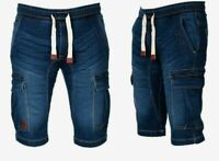 Geographical Norway Herren Cargo Shorts Bermuda Jeans shorts Kurze Hose knielang