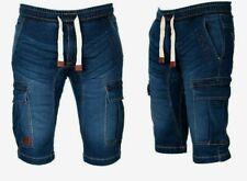Geographical norway Uomo Cargo Pantaloncini Bermuda Jeans Shorts Al Ginocchio