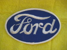 "Vintage Ford Oval Galaxie Falcon  Fairlane  Patch  4 7/8  "" X  3 1/8 """