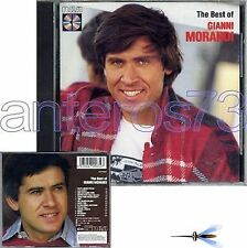 "GIANNI MORANDI ""THE BEST OF"" CD 1986 - ENRICO RUGGERI"