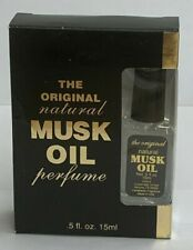 Musk Oil Perfume, Original - 0.5 oz