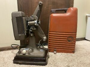 Antique Revere 16mm Film Movie Projector Model 48 Working with case