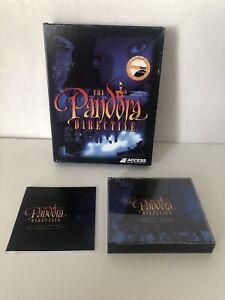 The Pandora Detective (1996) Big Box PC Game MS-DOS 3D Adventure