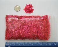 """STAR GLITTER - HOT PINK STARS - 1/8"""" / 3.175mm (1.5 ounce bag)"""