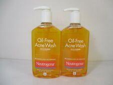 2 NEUTROGENA OIL FREE ACNE WASH 9.1 OZ EACH - EXP: 5/21+ JL 11433