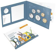 2017  Australia's Baby Coin Set, Alphabet Collection, Six coin uncirculated Set
