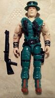 VTG GI JOE GIJOE 1988 MUSKRAT (v1) SWAMP FIGHTER w/ SHOTGUN INCOMPLETE