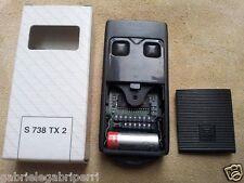 Cardin Elettronica S738 TX2 TRQ 738200 27.195 MHz Quarzato Batt 12V dip-switches