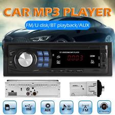 New listing In-Dash Fm Car Stereo Radio Bluetooth 1 Din U-Disk/Tf-card/Aux w/Remote Control