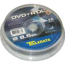 10 DVD+R DL Dual Layer 8x 240min 8,5gb Traxdata