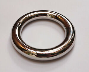 Brand New Metal Euro C Ring 50mm diameter approx NICKLE FREE Erection Delay