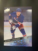 2020 Upper Deck Young Guns #201 Rookie RC Alexis Lafreniere Rangers Hockey